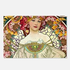 Mucha Cal 1 Postcards (Package of 8)