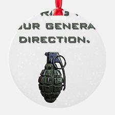 Frag Ornament