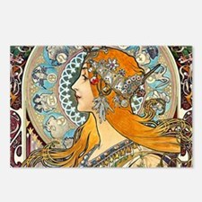 Mucha Cal 3 Postcards (Package of 8)
