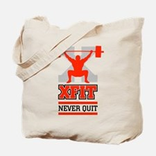 crossfit cross fit champion lifter light Tote Bag