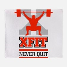 crossfit cross fit champion lifter light Throw Bla