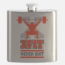 crossfit cross fit champion lifter light Flask