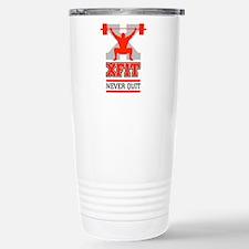 crossfit cross fit champion lifter light Travel Mug