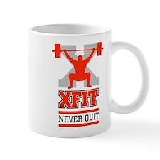 crossfit cross fit champion lifter light Mugs