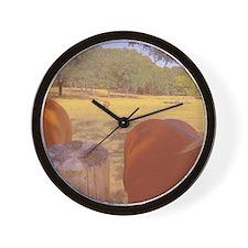 Haflinger Hind View! Wall Clock