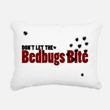 Bedbugs Rectangular Canvas Pillow