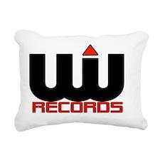 UWR Logo Background3 Pla Rectangular Canvas Pillow
