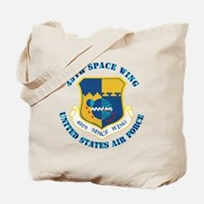 45-space-wing-txt Tote Bag