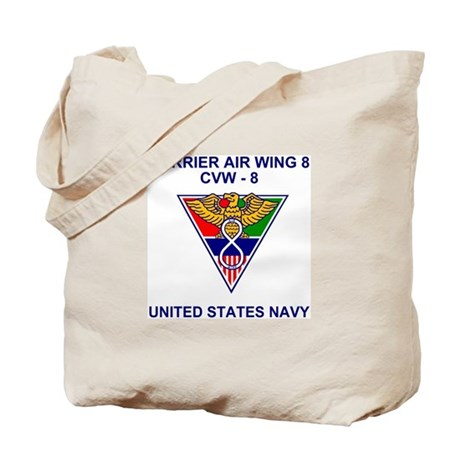Carrier Air Wing 8<BR>Tote Bag
