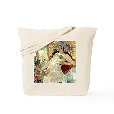 iPad S Mucha Fall Tote Bag