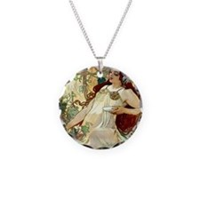 iPad S Mucha Fall Necklace