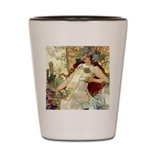 iPad S Mucha Fall Shot Glass