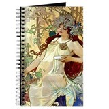 Alphonse mucha Journals & Spiral Notebooks
