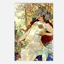iPad S Mucha Fall Postcards (Package of 8)