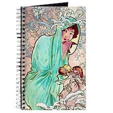 iPad S Mucha Winter Journal