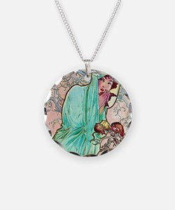 iPad S Mucha Winter Necklace