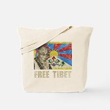 VintageFreeTibe6Bk Tote Bag