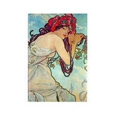 K/S Mucha Spring Rectangle Magnet