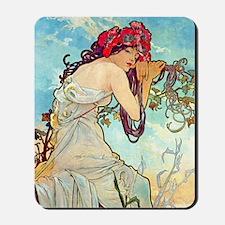 iPad S Mucha Spring Mousepad
