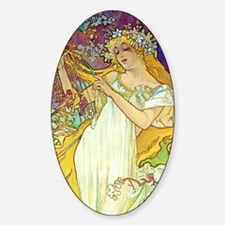 iPad S Mucha Spring Decal