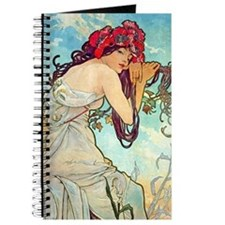 iPad S Mucha Spring Journal