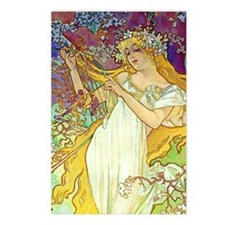 K/S Mucha Spring Postcards (Package of 8)