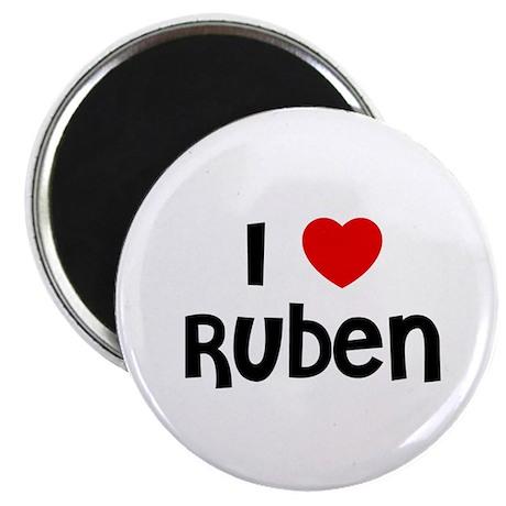 "I * Ruben 2.25"" Magnet (10 pack)"