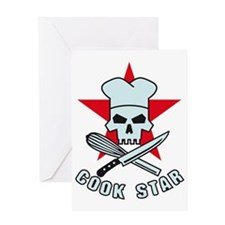 Cook Star 2 Greeting Card