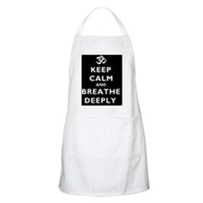 Keep_Calm_BreatheDeeply1Square Apron