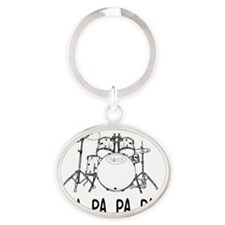 Picture1 Oval Keychain
