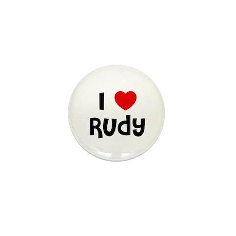 I * Rudy Mini Button (10 pack)