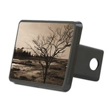 black and white Hitch Cover