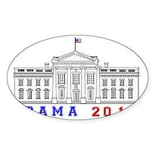 Obama White House 2012 Beveled Decal