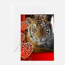 Aasha - sized Romantic Card Greeting Card