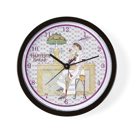 MOD CLOCK-SANDBERG-CokeTiffanyFount Wall Clock