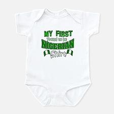 Nigeria baby design Infant Bodysuit