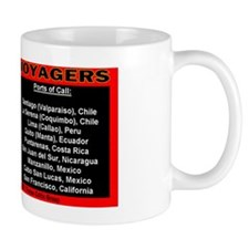 star ship voyagers  2012 ports of call  Mug