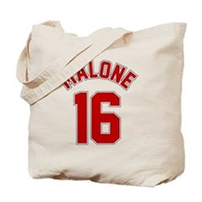 malone_jersey_btn Tote Bag