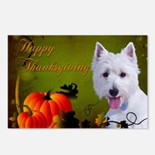 WestieThanks Postcards (Package of 8)