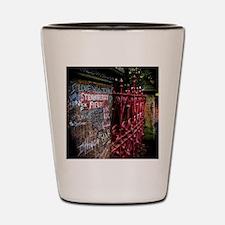 Strawberry Field Shot Glass