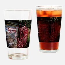 Strawberry Field Drinking Glass