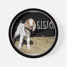 Baby Goat e.i.e.i.o! Wall Clock