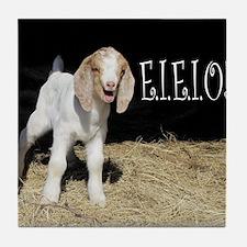 Baby Goat e.i.e.i.o! Tile Coaster