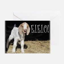 Baby Goat e.i.e.i.o! Greeting Card