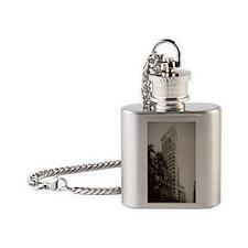 V Flatiron iphone3G Flask Necklace
