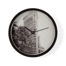 V Flatiron ipad sleeve Wall Clock