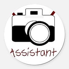 assistant Round Car Magnet