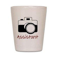 assistant wo strap Shot Glass