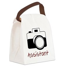 assistant wo strap Canvas Lunch Bag