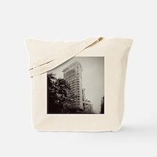 V Flatiron square Tote Bag